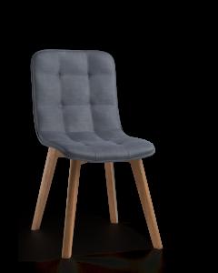 Krzesło z miękkim oparciem Modesta