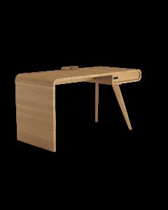 Biurko z listwą-organizerem Modesta