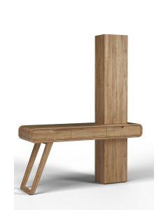 Toaletka z frontem drewnianym Modesta